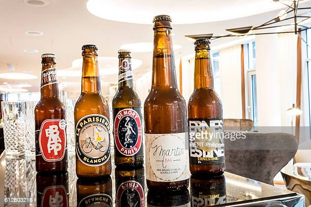 Parisian atypical hotels the Hotel Renaissance 40 rue Rene Boulanger Paris 10e a 5 stars Hotel designed by Didier Gomez specialized in Parisian beers...