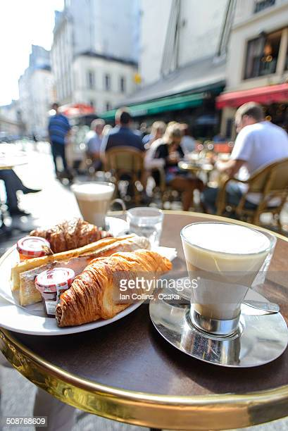 Parisian Cafe breakfast
