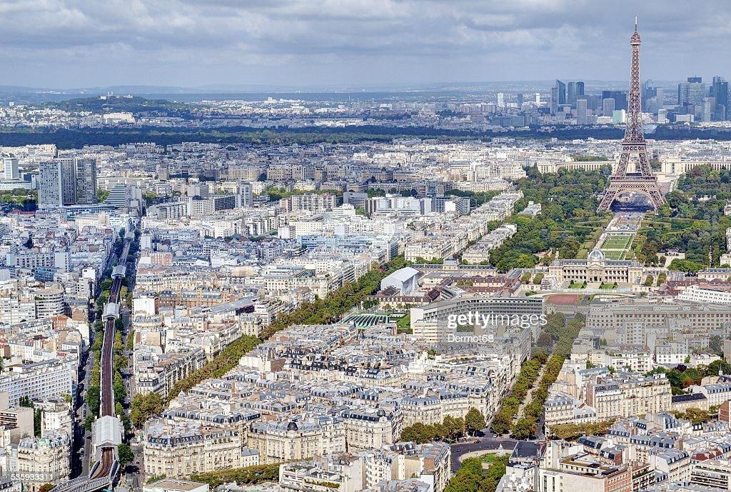 Parisian cityscape : Stock Photo