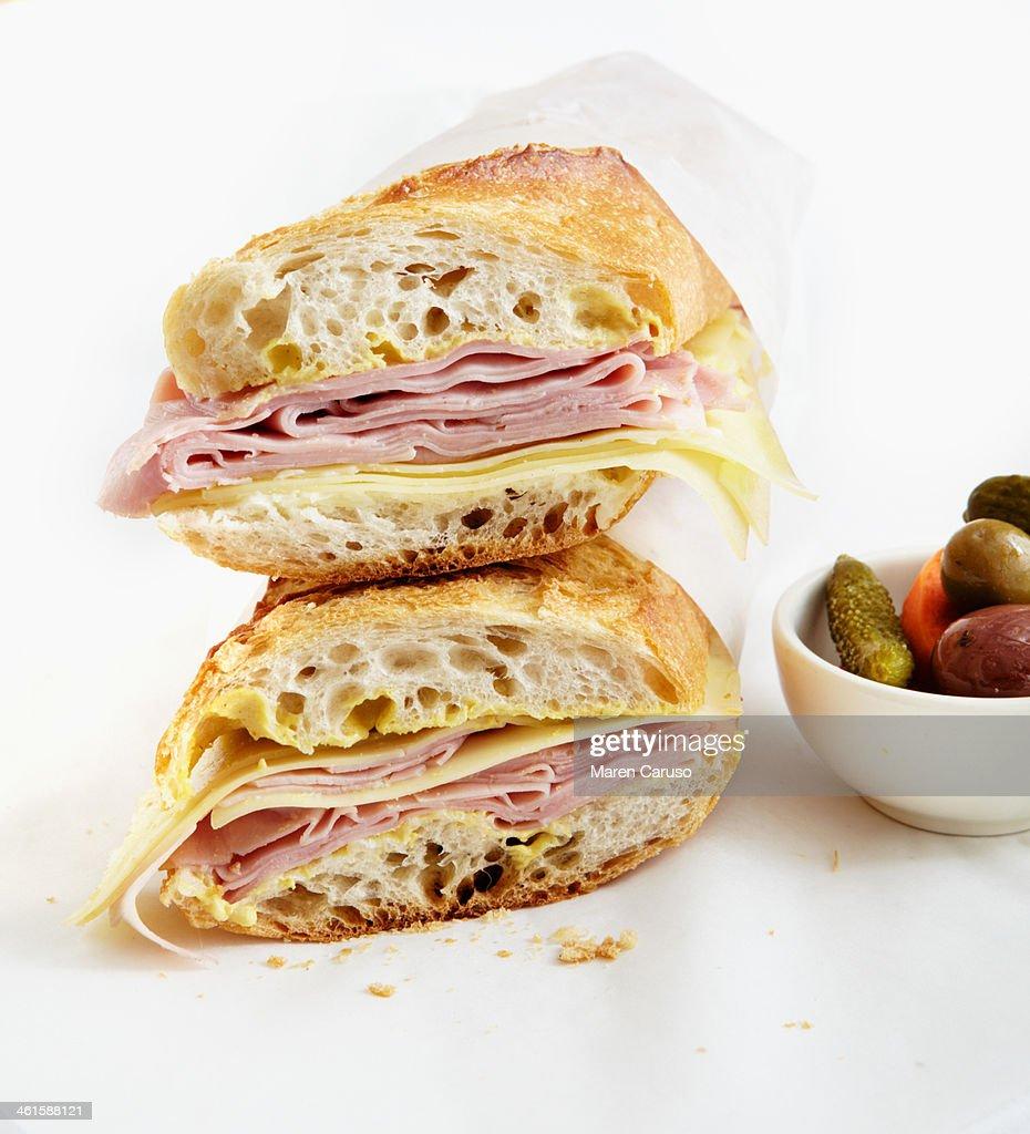 Parisian Ham and Cheese Sandwich