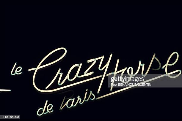 Parisian Prince of the night in Paris France in November 1993 The Crazy Horse