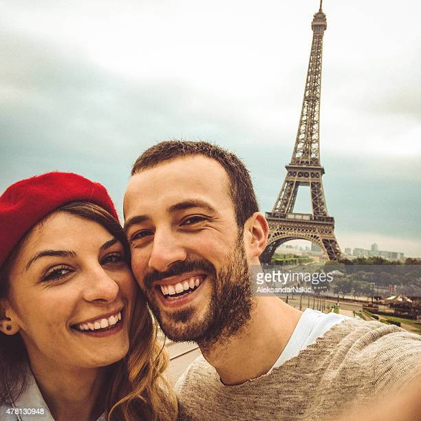 Parisien selfie