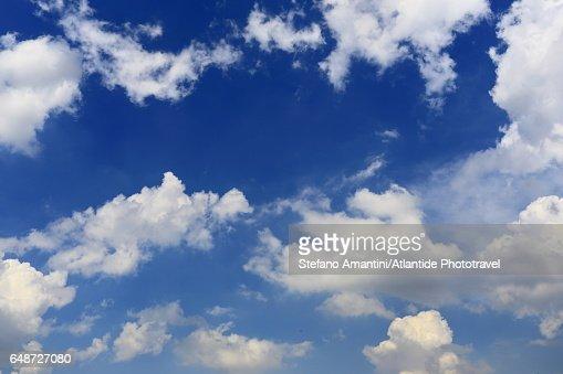 Parisian sky : Stock Photo