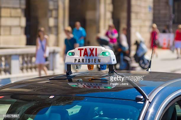 Parisian taxi