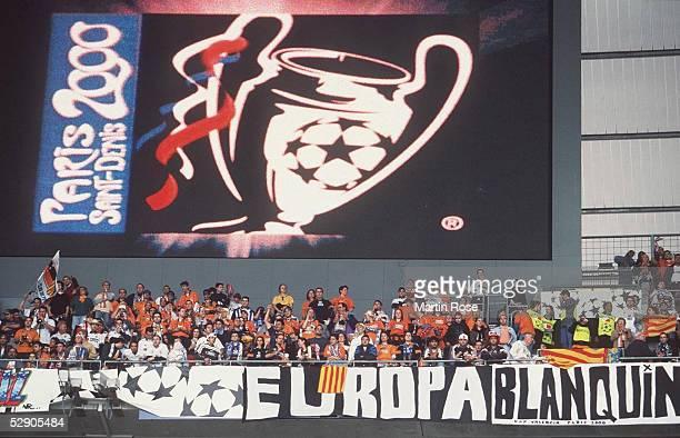 FINALE 99/00 Paris/St Denis REAL MADRID VALENCIA CF 30 ZUSCHAUER IM STADION