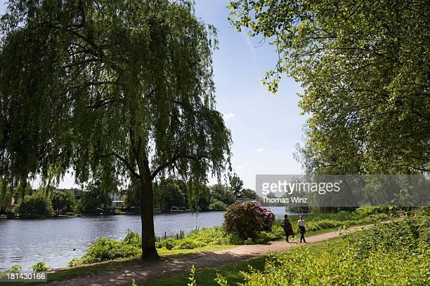 Park along Aussenalster
