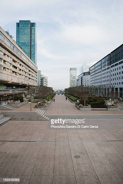 Park at La Defense, Paris, France