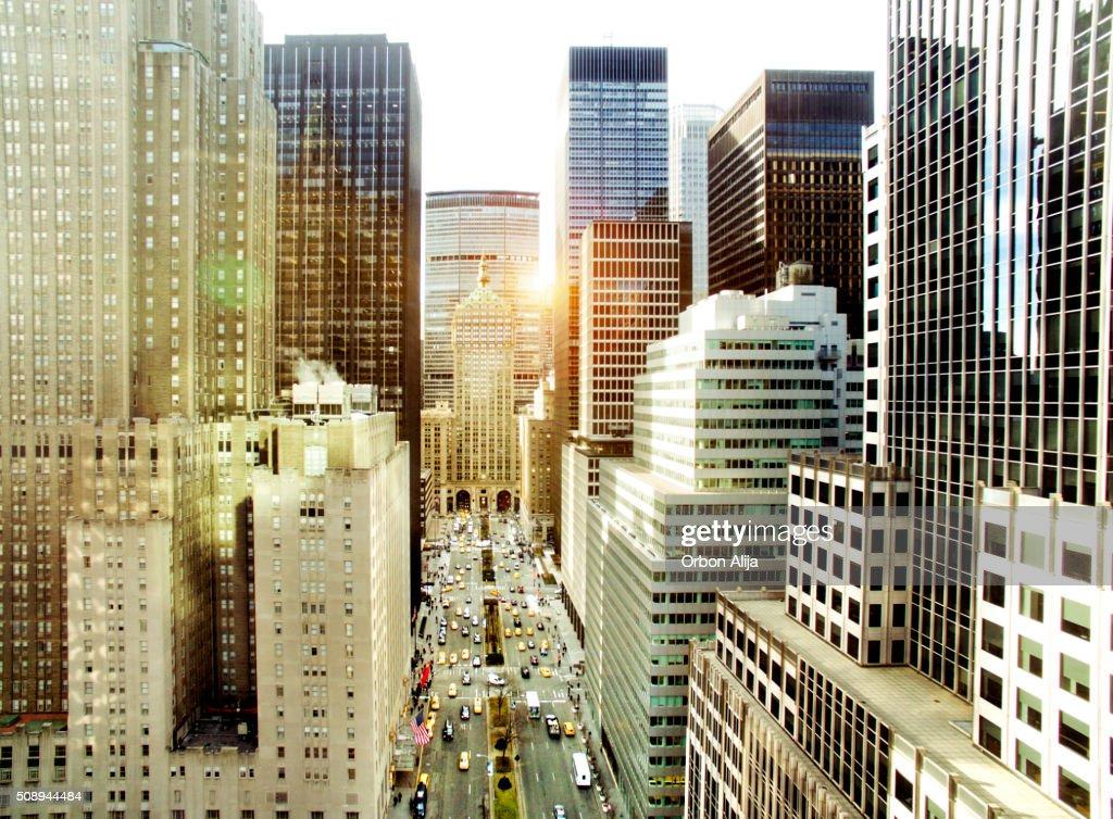 Parco Avenue, Nuovo York Città : Foto stock
