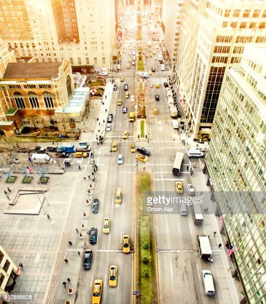 Parque avenida, ciudad de Nueva York