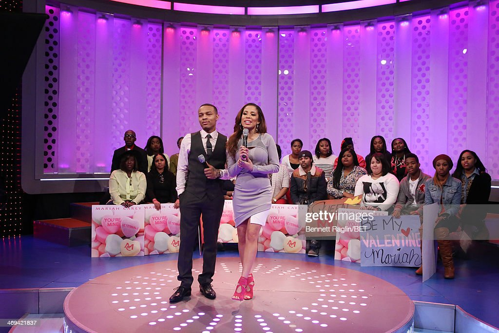 106 & Park <a gi-track='captionPersonalityLinkClicked' href=/galleries/search?phrase=Bow+Wow+-+Rapper&family=editorial&specificpeople=211211 ng-click='$event.stopPropagation()'>Bow Wow</a> and Keshia Chante attend 106 & Park at BET studio on February 11, 2014 in New York City.