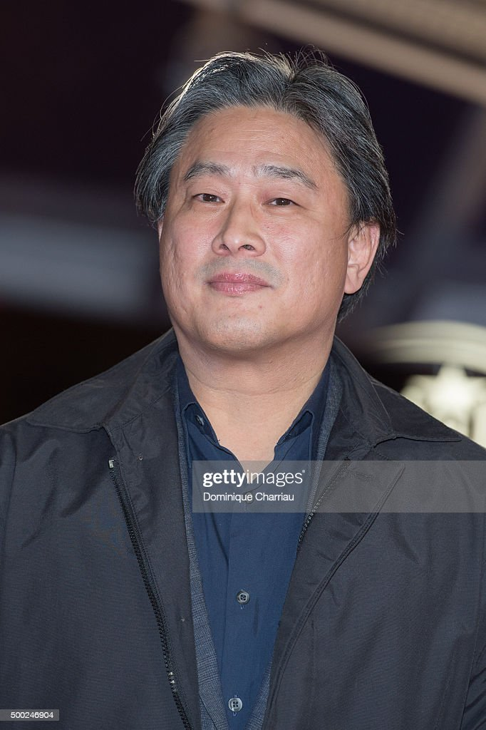 Park ChanWook attends the tribute to Canadian cinema during the 15th Marrakech International Film Festival on December 6 2015 in Marrakech Morocco