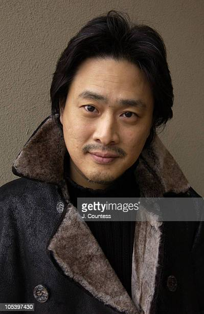 Park Chanwook director of 'Old Boy' during 2005 Sundance Film Festival 'Old Boy' Event at Gateway Center in Park City Utah United States