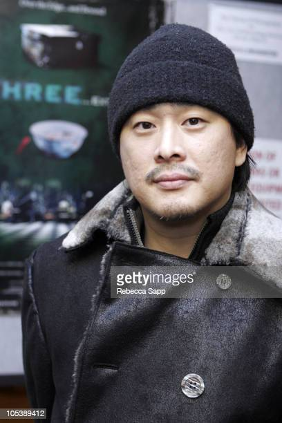Park Chanwook director of 'Three Extremes' during 2005 Sundance Film Festival 'Three Extremes' Midnight Screening at Egyptian Theatre in Park City...