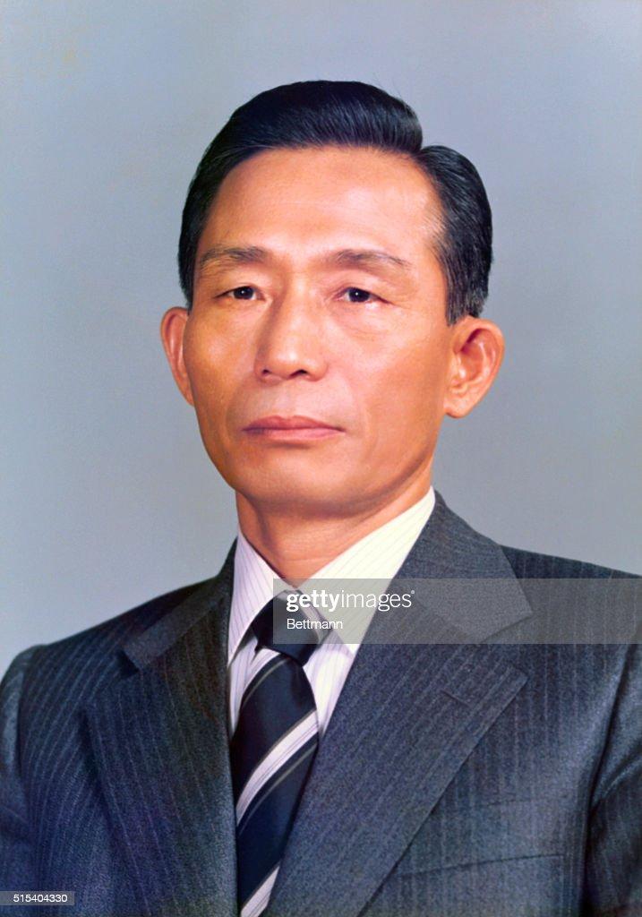 Park Chung Hee of Korea President of South Korea posing in official portrait