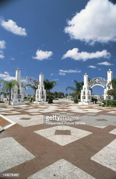 Park Entrance Bayfront Park Sarasota Florida