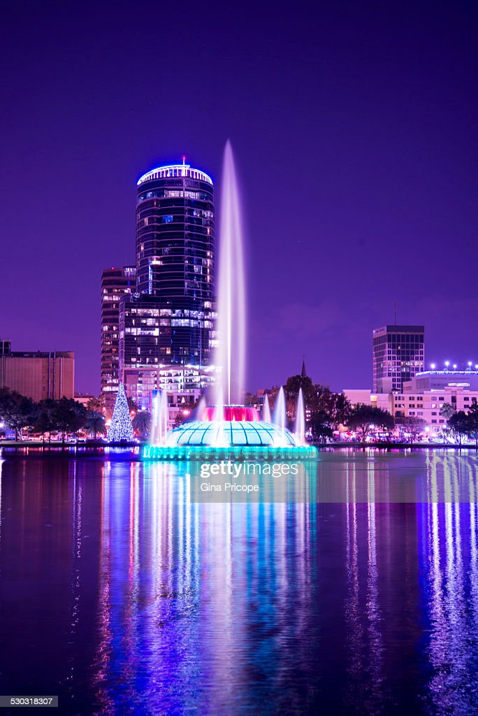 Park Eola in Orlando Florida