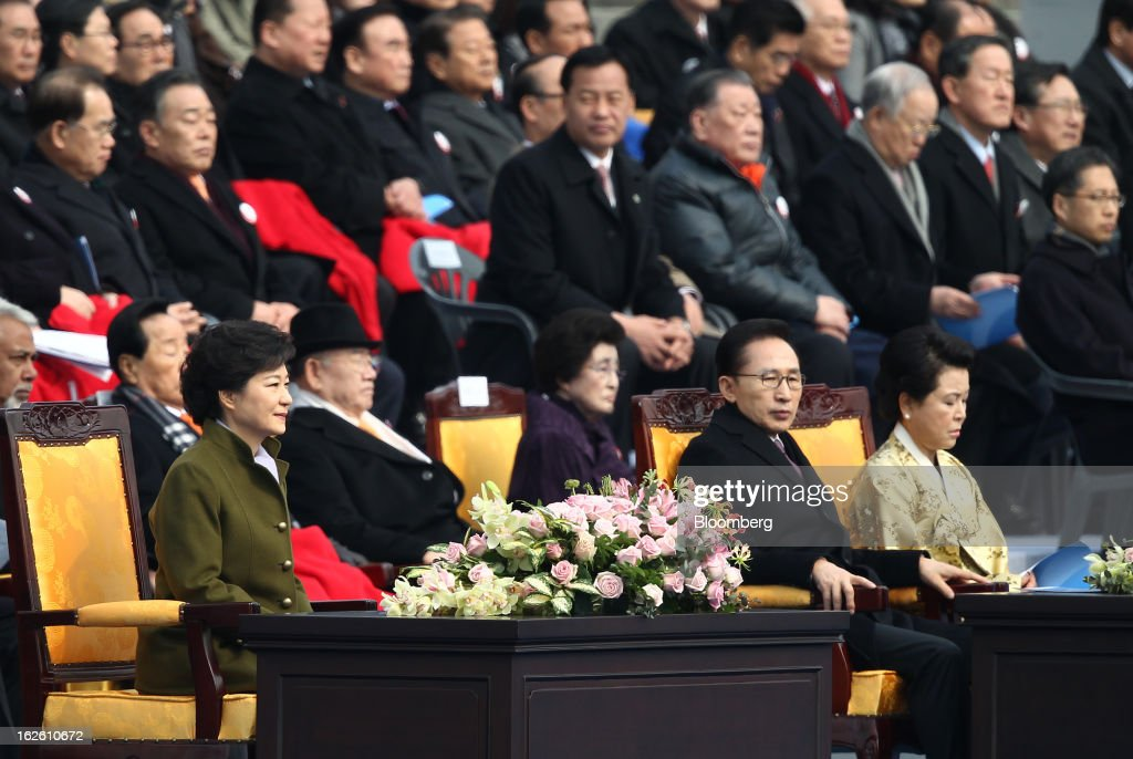 Park Geun Hye Inauguration