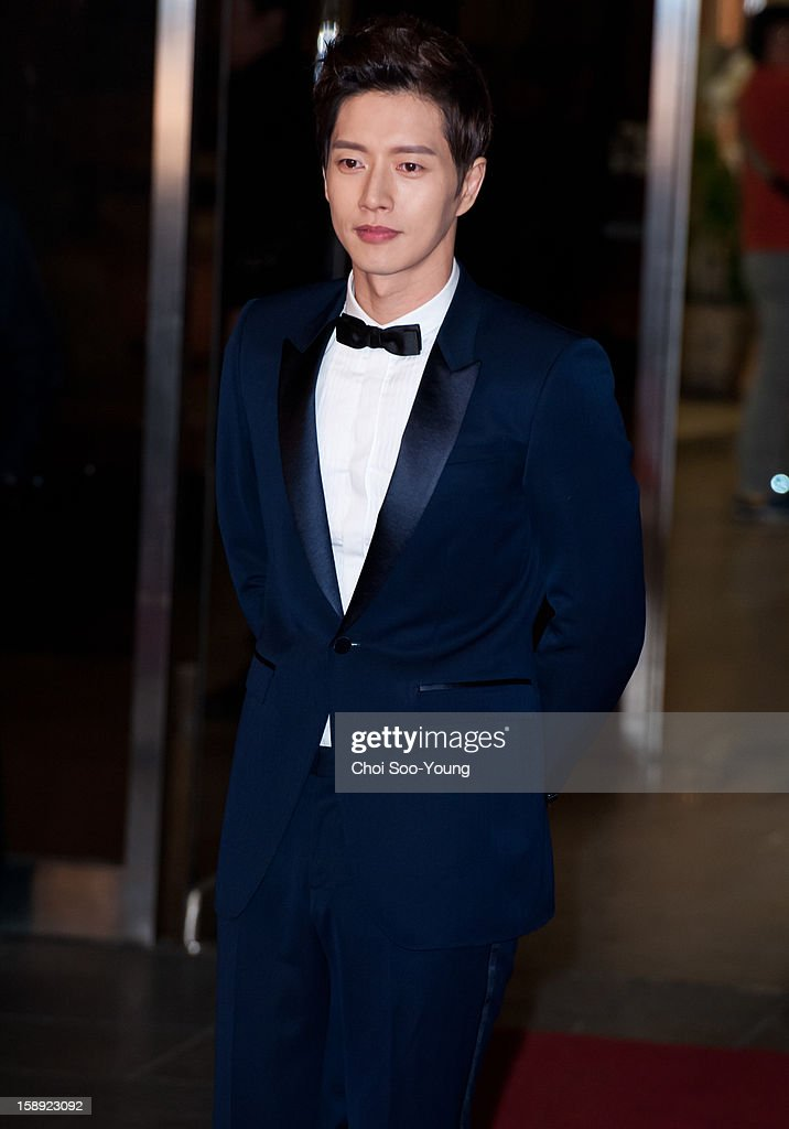 Park Hae-Jin attends the 2012 KBS Drama Awards at KBS Hall on December 31, 2012 in Seoul, South Korea.