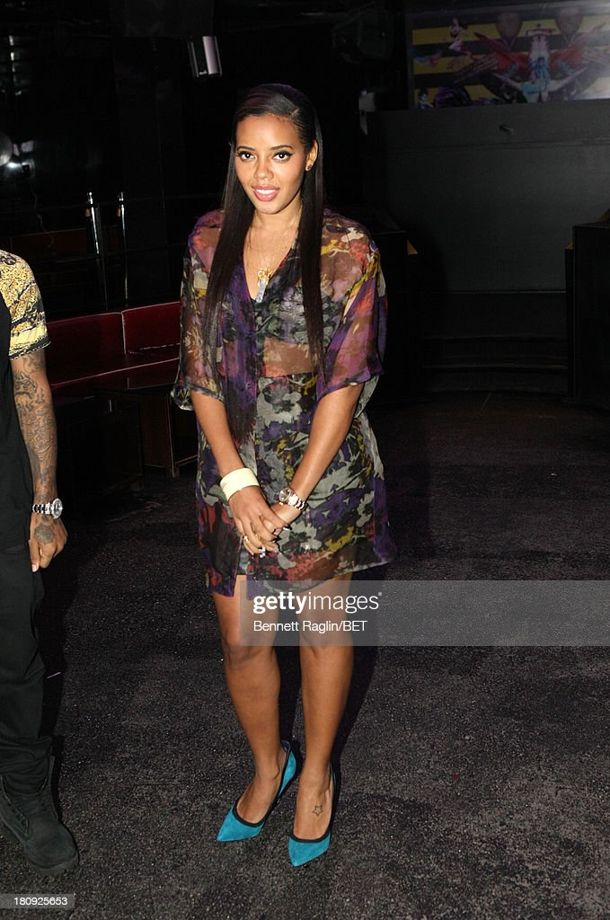 106 & Park host <a gi-track='captionPersonalityLinkClicked' href=/galleries/search?phrase=Angela+Simmons&family=editorial&specificpeople=653461 ng-click='$event.stopPropagation()'>Angela Simmons</a> attends 106 & Park On the Road at Tenjune on September 11, 2013 in New York City.