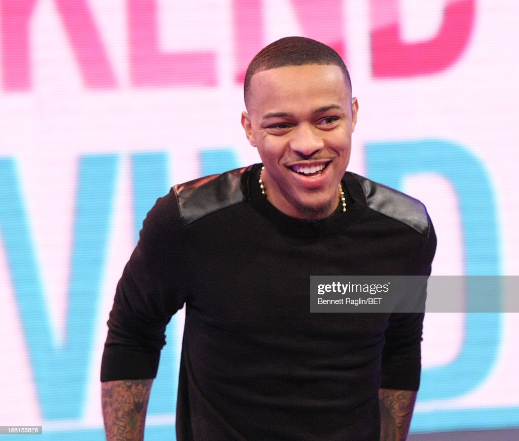 106 & Park host <a gi-track='captionPersonalityLinkClicked' href=/galleries/search?phrase=Bow+Wow+-+Rapper&family=editorial&specificpeople=211211 ng-click='$event.stopPropagation()'>Bow Wow</a> attends 106 & Park at 106 & Park studio on October 28, 2013 in New York City.