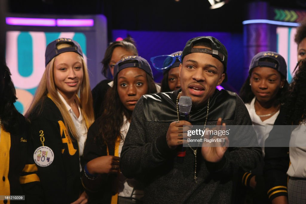 106 & Park host <a gi-track='captionPersonalityLinkClicked' href=/galleries/search?phrase=Bow+Wow+-+Rapper&family=editorial&specificpeople=211211 ng-click='$event.stopPropagation()'>Bow Wow</a> attends 106 & Park at 106 & Park Studio on September 18, 2013 in New York City.