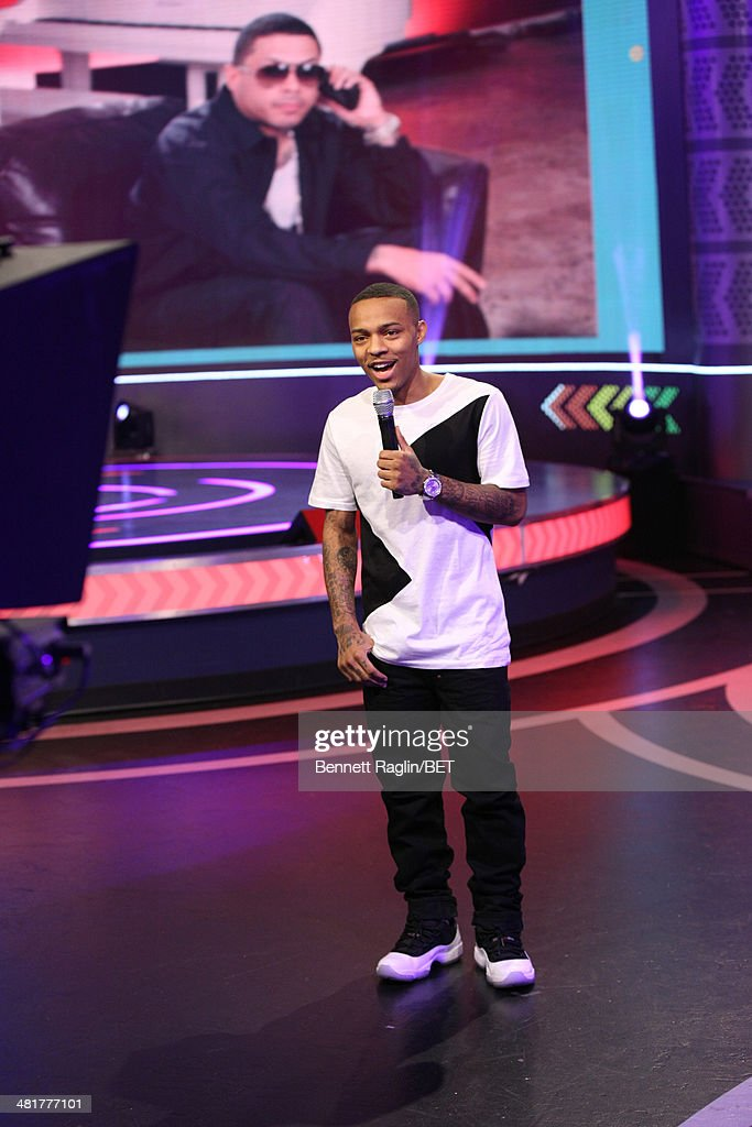 106 & Park host <a gi-track='captionPersonalityLinkClicked' href=/galleries/search?phrase=Bow+Wow+-+Rapper&family=editorial&specificpeople=211211 ng-click='$event.stopPropagation()'>Bow Wow</a> attends 106 & Park at BET studio on March 31, 2014 in New York City.