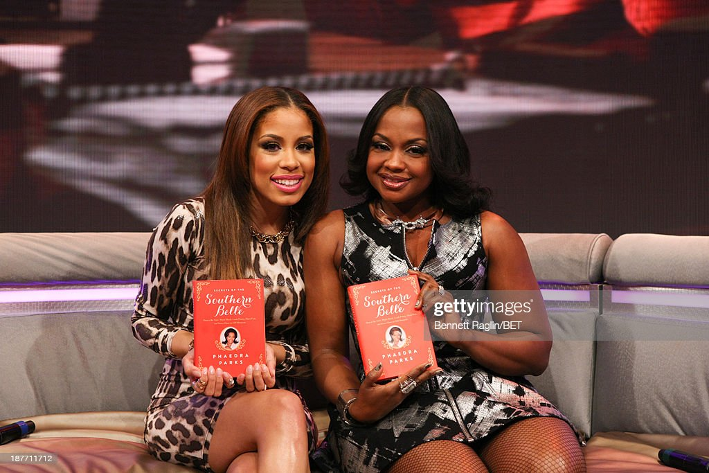 106 & Park host Keshia Chante and Phaedra Parks attend 106 & Park at 106 & Park studio on November 11, 2013 in New York City.