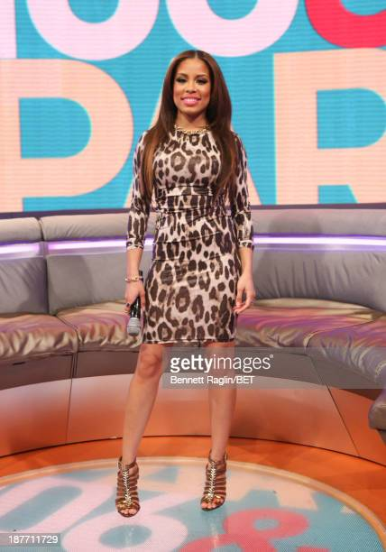 106 Park host Keshia Chante attend 106 Park at 106 Park studio on November 11 2013 in New York City