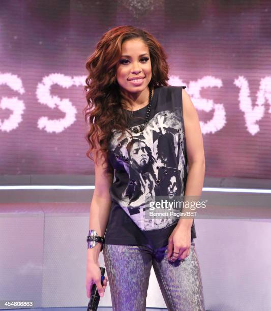 106 Park host Keshia Chante attends 106 Park at BET studio on December 9 2013 in New York City