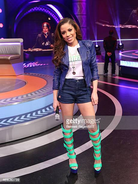106 Park host Keshia Chante attends 106 Park at BET studio on February 11 2014 in New York City