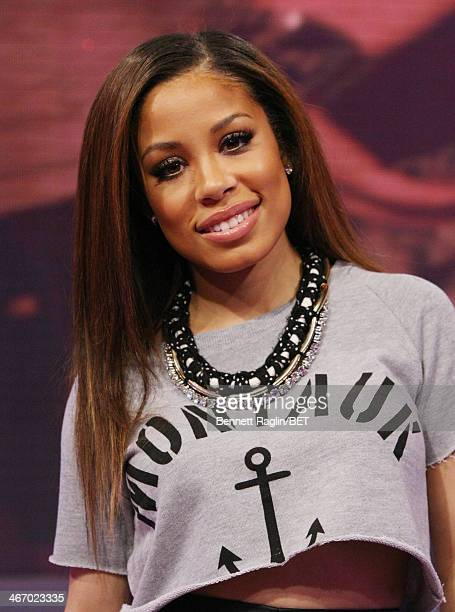 106 Park host Keshia Chante attends 106 Park at BET studio on February 3 2014 in New York City