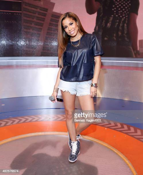 106 Park host Keshia Chante attends 106 Park at BET studio on July 22 2014 in New York City