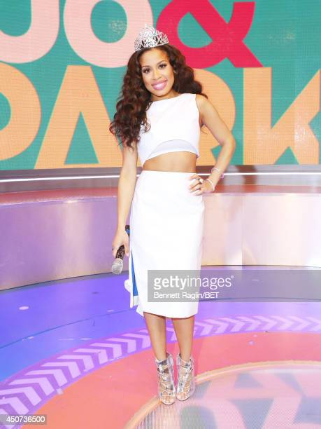 106 Park host Keshia Chante attends 106 Park at BET studio on June 16 2014 in New York City