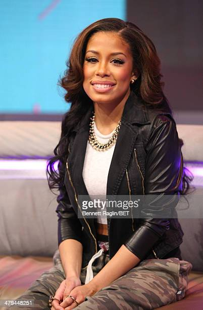 106 Park host Keshia Chante attends 106 Park at BET studio on March 17 2014 in New York City