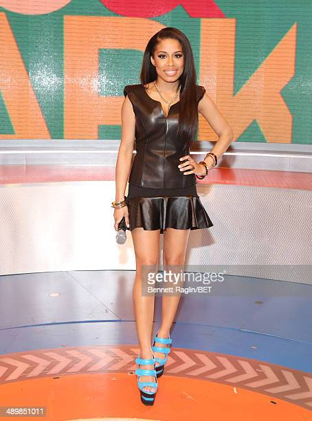 106 Park host Keshia Chante attends 106 Park at BET studio on May 12 2014 in New York City