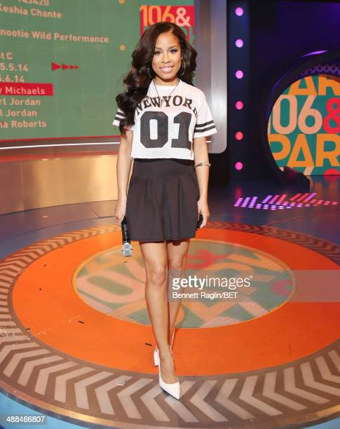 106 Park host Keshia Chante attends 106 Park at BET studio on May 5 2014 in New York City