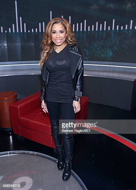 106 Park host Keshia Chante attends 106 Park on November 3 2014 in New York City