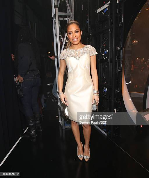 106 Park host Keshia Chante attends 106 Party at BET studio on December 12 2014 in New York City