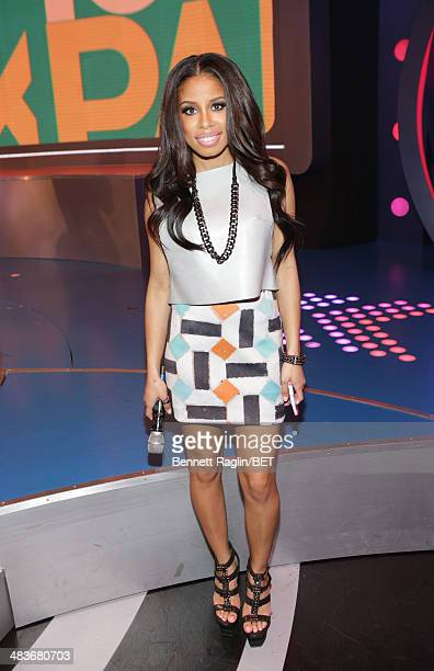 106 106 Park host Keshia Chante attends Park at BET studio on April 9 2014 in New York City
