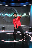 106 Park host Shorty da Prince attends 106 Park at BET studio on December 15 2014 in New York City