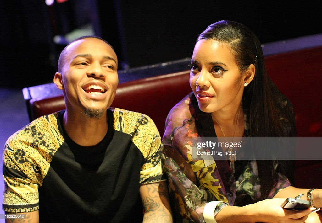 106 & Park hosts <a gi-track='captionPersonalityLinkClicked' href=/galleries/search?phrase=Bow+Wow+-+Rapper&family=editorial&specificpeople=211211 ng-click='$event.stopPropagation()'>Bow Wow</a> and <a gi-track='captionPersonalityLinkClicked' href=/galleries/search?phrase=Angela+Simmons&family=editorial&specificpeople=653461 ng-click='$event.stopPropagation()'>Angela Simmons</a> attend 106 & Park On the Road at Tenjune on September 11, 2013 in New York City.