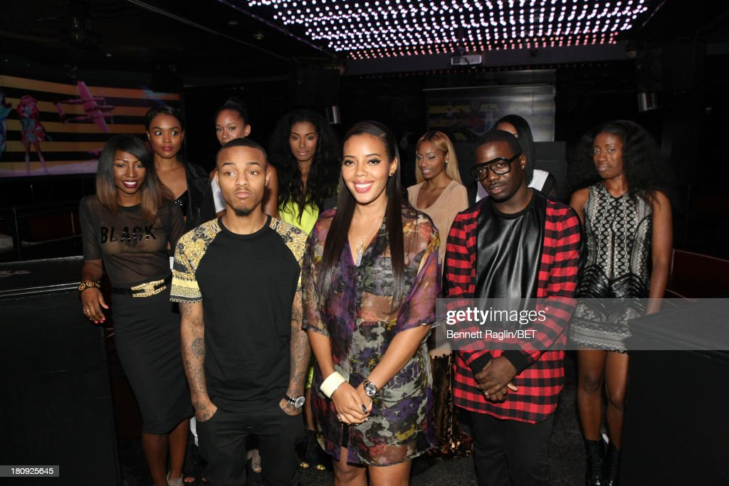 106 & Park hosts <a gi-track='captionPersonalityLinkClicked' href=/galleries/search?phrase=Bow+Wow+-+Rapper&family=editorial&specificpeople=211211 ng-click='$event.stopPropagation()'>Bow Wow</a> and <a gi-track='captionPersonalityLinkClicked' href=/galleries/search?phrase=Angela+Simmons&family=editorial&specificpeople=653461 ng-click='$event.stopPropagation()'>Angela Simmons</a> attends 106 & Park On the Road at Tenjune on September 11, 2013 in New York City.