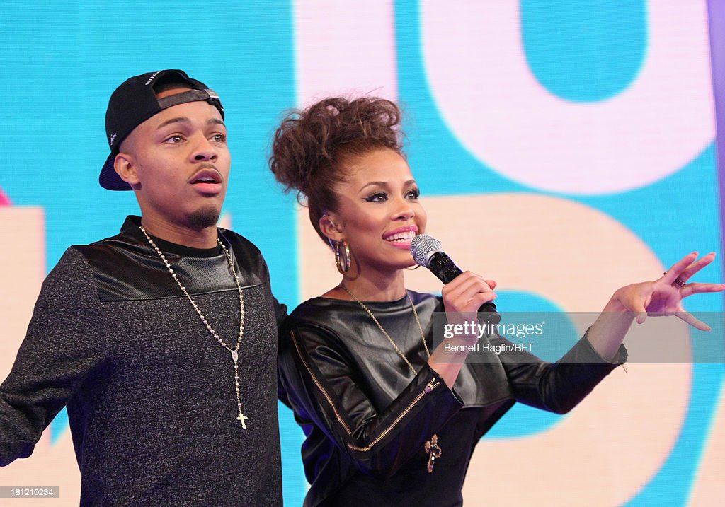 106 & Park hosts Bow Wow and Keshia Chante attend 106 & Park at 106 & Park Studio on September 18, 2013 in New York City.