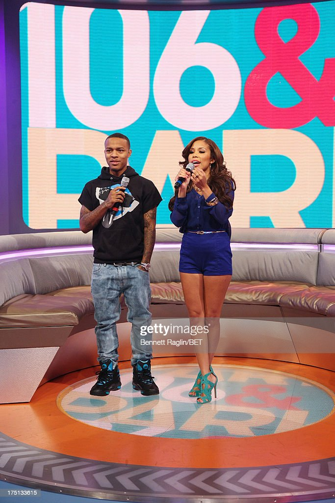 106 & Park hosts <a gi-track='captionPersonalityLinkClicked' href=/galleries/search?phrase=Bow+Wow+-+Rapper&family=editorial&specificpeople=211211 ng-click='$event.stopPropagation()'>Bow Wow</a> and Keshia Chante attend BET's 106 & Park at BET Studios on July 31, 2013 in New York City.