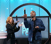 106 Park hosts Keshia Chante and Ray J attend 106 Park at BET studio on November 5 2014 in New York City
