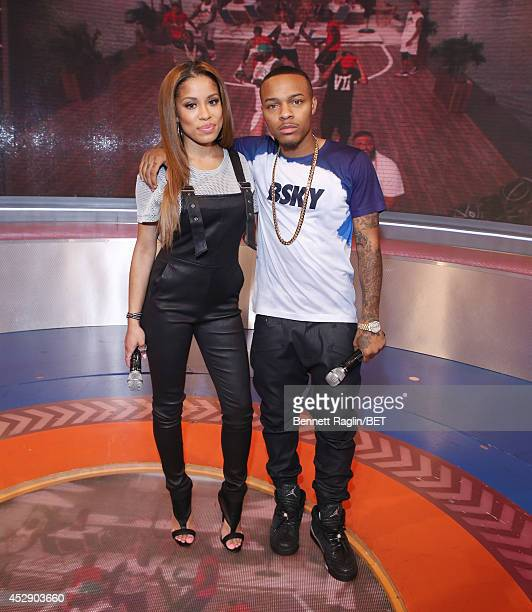 106 Park hosts Keshia Chante and Shad Moss attend 106 Park at BET studio on July 28 2014 in New York City