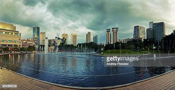 Park in Kuala Lumpur Malaysia