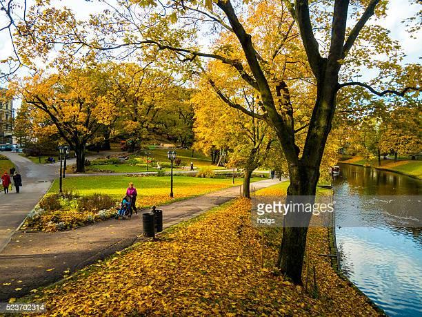 Park in Riga, Latvia