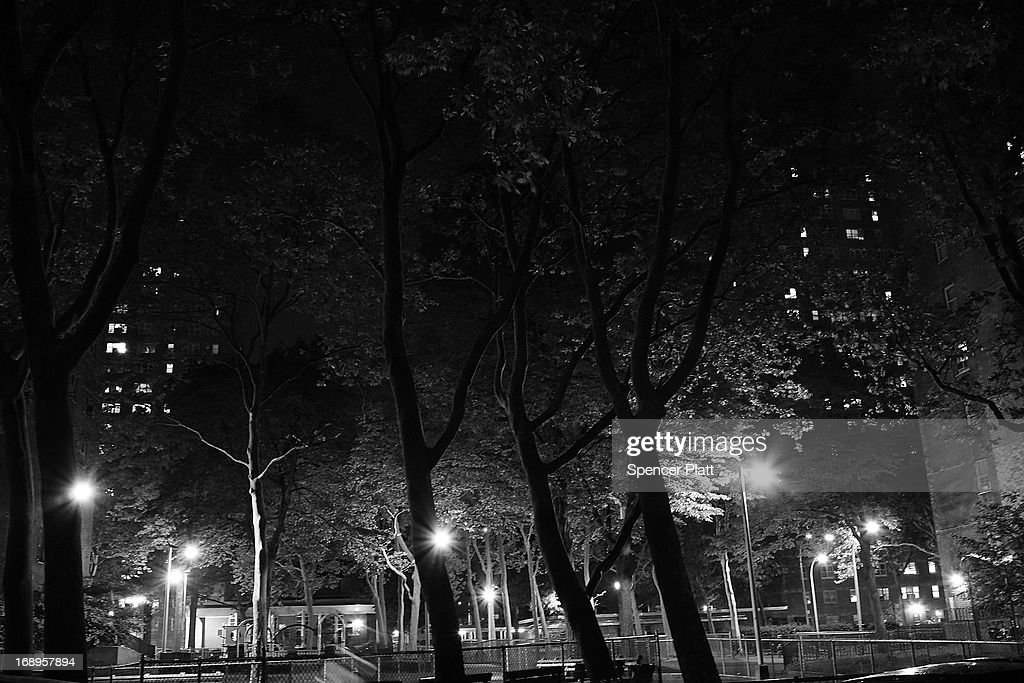 A park is seen beside the location where on February 8, 1990 Rabbi Chaskel Werzberger was murdered on May 16, 2013 in Brooklyn borough of New York City. David Ranta spent more than two decades behind bars for the murder before being freed after a reinvestigation of his case cast doubts on evidence which used to convict him. Following the recent clearing of Ranta of murder, the Brooklyn, N.Y. District Attorney is reviewing 50 murder cases investigated by celebrated Detective Louis Scarcella. The review of cases will give special scrutiny to those cases which appear weakest. Scarcella, 61 and now retired, denies ever having used unethical tactics to secure a conviction.
