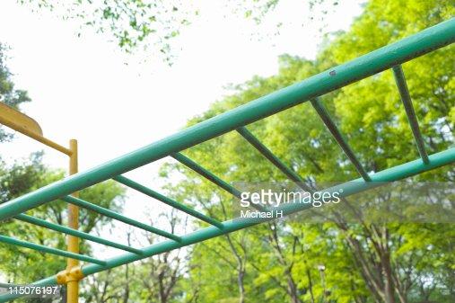 Park playground equipment : Stock Photo